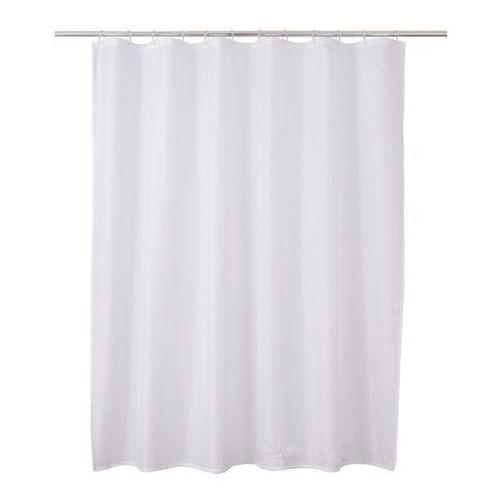 Cooke&lewis Zasłonka prysznicowa diani 180 x 200 cm biała