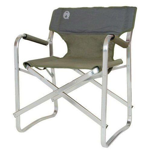 Coleman Krzesło rozkładane deck zielony + darmowy transport!