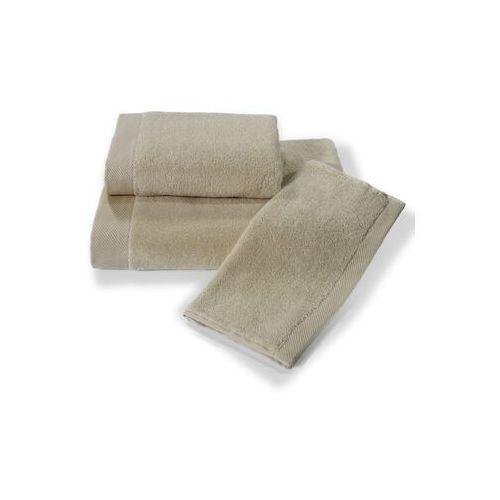 Ręcznik kąpielowy micro cotton 75x150cm jasnobeżowy marki Soft cotton