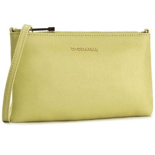Torebka COCCINELLE - YV3 Minibag C5 YV3 15 B3 02 Zanzero 158, kolor żółty