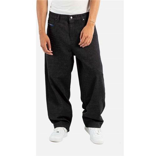 Spodnie - baggy black denim (120), Reell