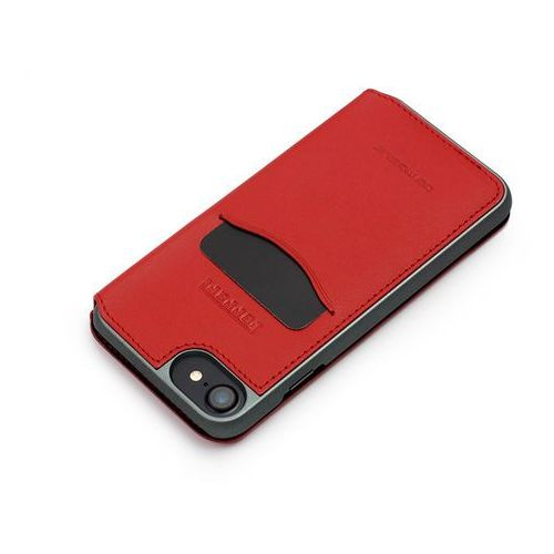 Etuo.pl Cg mobile - apple iphone 8 - etui na telefon ferrari genuine leather - czerwone