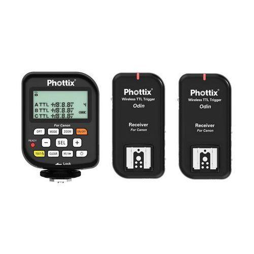 odin ttl v1.5 wyzwalacz + 2 odbiorniki do canon marki Phottix