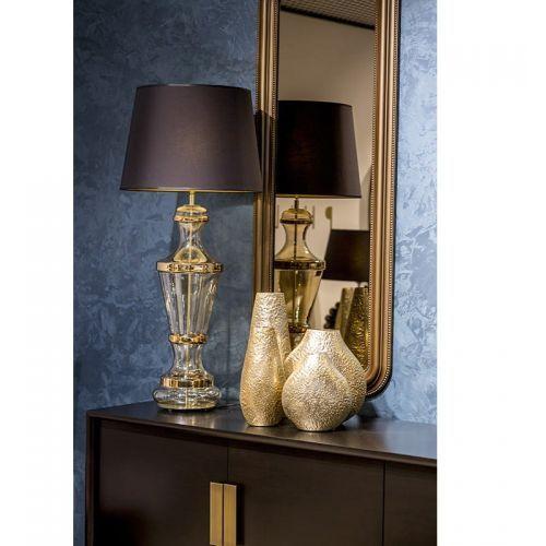 Roma Gold Podłogowa 110cm 4Concepts A225242257 czarny złoty