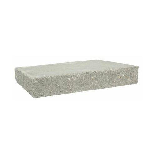Przykrycie słupka 40 x 40 x 7 cm betonowe czterostronnie łupane SKAŁA LUBUSKA ZIEL-BRUK
