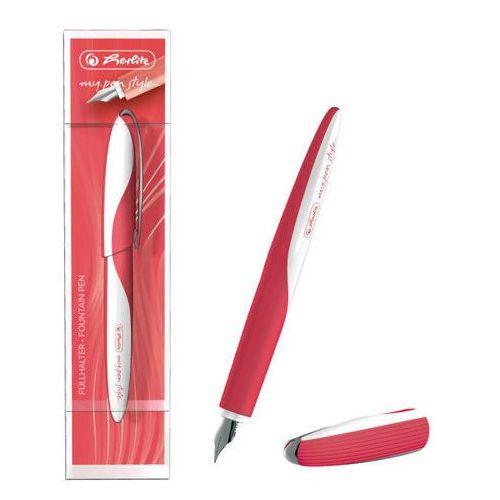 Herlitz pióro wieczne my pen style czerwone 486109 (4008110486109)