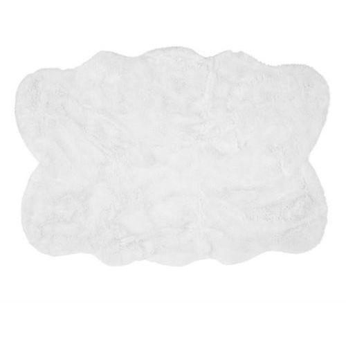 Dywan Auckland Luxury Faux Sheepskin Quad White 140x200