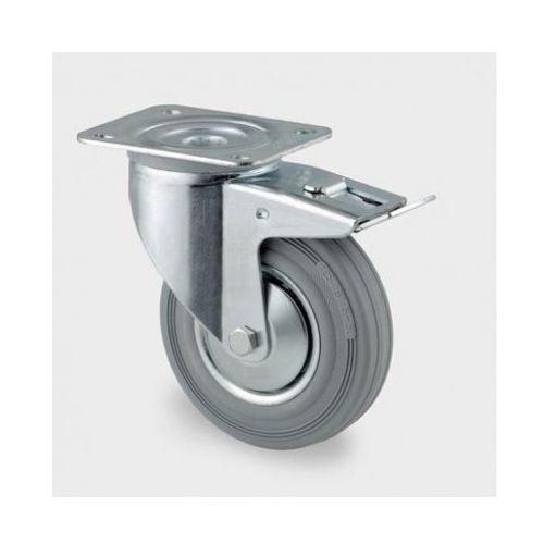 Tente Koła przemysłowe z maksymalnym obciążeniem 70-205 kg, szara guma (4031582305067)