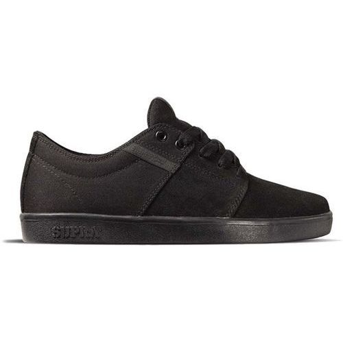 Supra Buty - stacks ii lowt black/black/black (bbb)