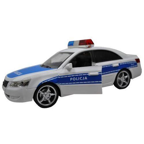AUTO RADIOWÓZ POLICYJNY 1:16 ŚWIATŁO/DŻWIĘK Błyskawiczna wysyłka! 24h !