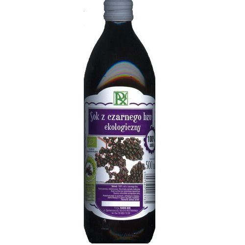 Radix-bis Radix bis bio sok z czarnego bzu 100% 500ml