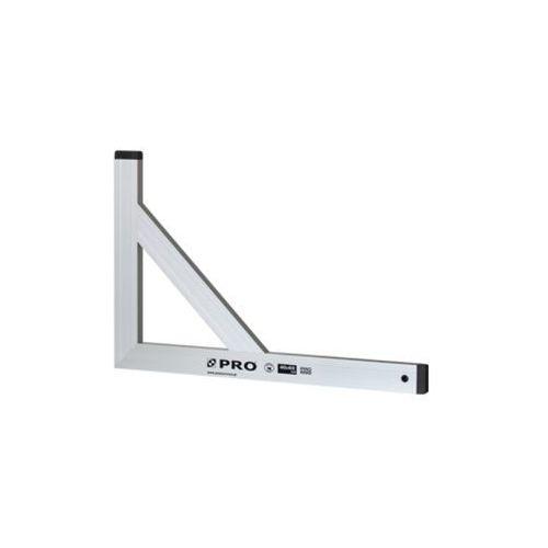 Pro kątownica anodowana bez wskaźnika ze wzmocnieniem 40x60cm (5906245902756)