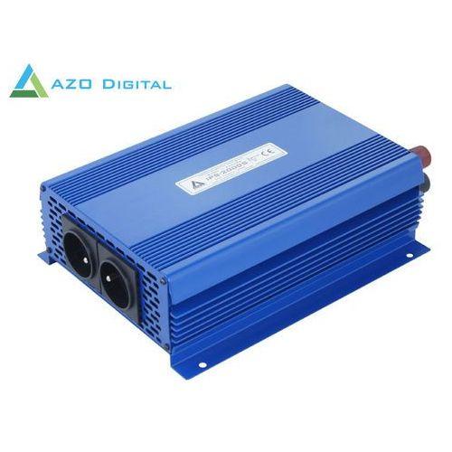 Azo digital Przetwornica napięcia 12 vdc / 230 vac eco mode sinus ips-2000s 2000w