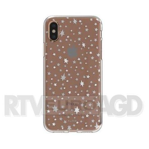 Etui FLAVR iPlate Starry Nights do Apple iPhone X Wielokolorowy (30025), 30025
