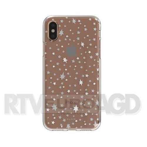 Etui iplate starry nights do apple iphone x wielokolorowy (30025) marki Flavr