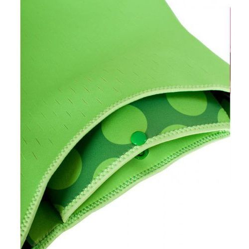 - torba do wózka z neoprenu zielona w kropki marki Quaranta settimane