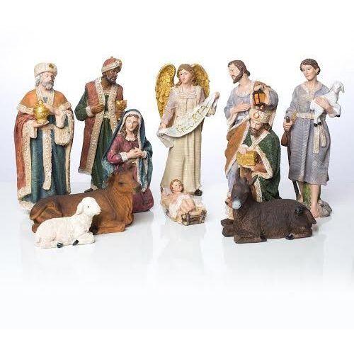 Szopka bożonarodzeniowa tradycyjna 30 cm, UR16170