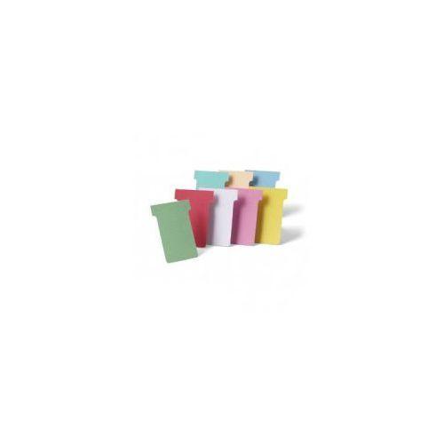 Nobo Karteczki t-card, rozmiar 2-60mm, jasne niebieskie 100 sztuk