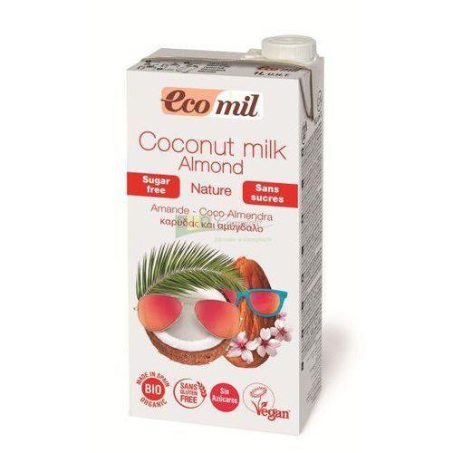 Ecomil Napój - mleko kokosowe z migdałami bio 1l (8428532230290)
