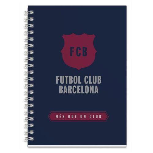 Kołonotatnik A5 FC Barcelona
