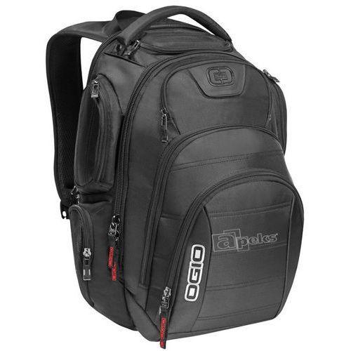 Ogio Gambit plecak na laptop 17'' / czarny - Black, kolor czarny