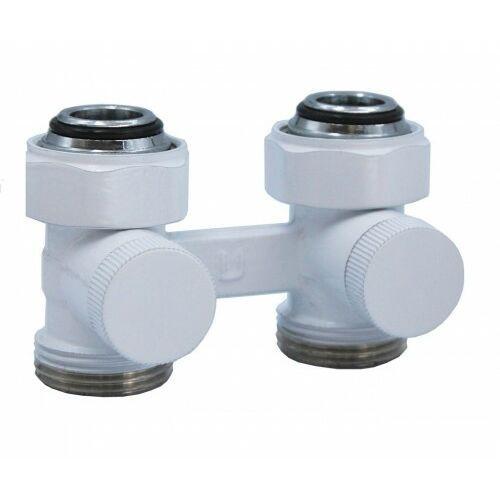 Zestaw instalacyjny biały premium prosty +głowica+złączki marki Varioterm