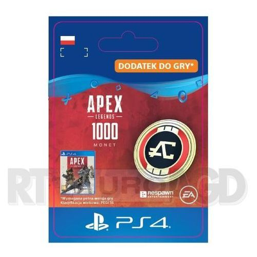 Sony Apex legends - 1000 monet [kod aktywacyjny] ps4