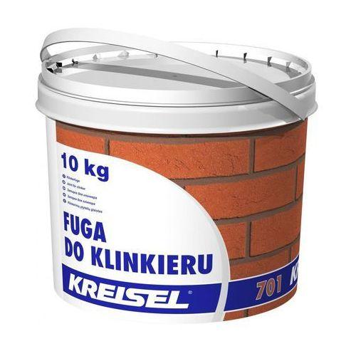Fuga do klinkieru 701 Czarna 10 kg KREISEL (5907418012487)