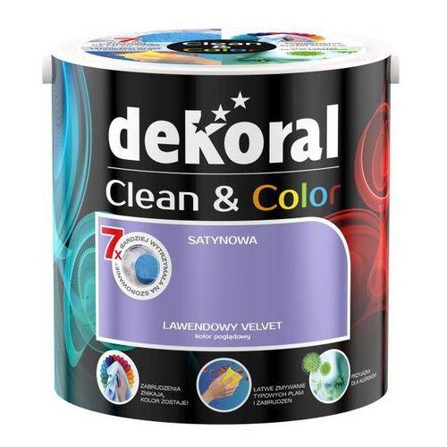 Farba  clean&color marki Dekoral. Najniższe ceny, najlepsze promocje w sklepach, opinie.