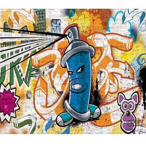 Consalnet Fototapeta uliczny styl – graffiti – niebieski 1398