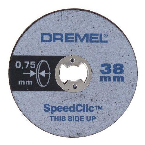 Zestaw 5 tarcz sc409 o średnicy 38 x 075 mm marki Dremel