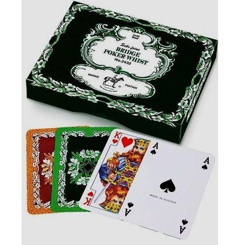 2 talie kart - Liście dębu Bridge Poker Whist (9001890243240)