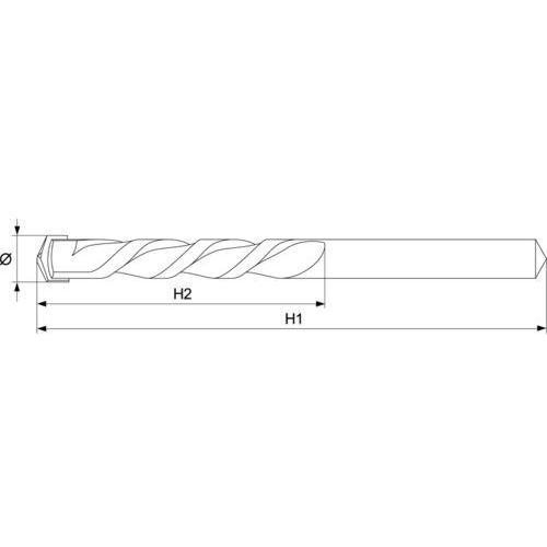 Yato Wiertło do betonu walcowe 4x70 mm yt-4361 - zyskaj rabat 30 zł (5906083943614)