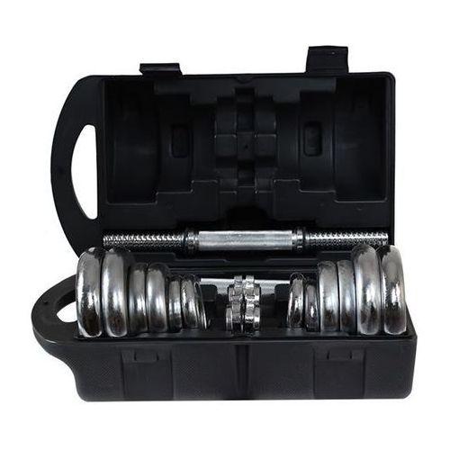 Hms Sztangielki w walizce sjc 2 x 10 kg (5907695503715)