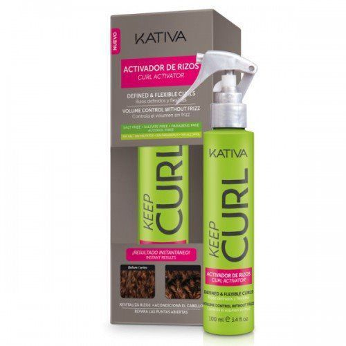 KATIVA KEEP CURL Activator de rizos Aktywator do loków 100 ml