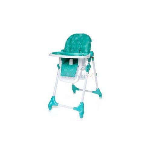krzesełko do karmienia decco turkusowe marki 4baby