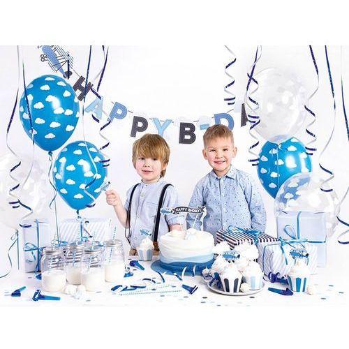 Party Box - Imprezowe Pudełko - Zestaw dekoracji na urodziny Samolocik (5902230791053)