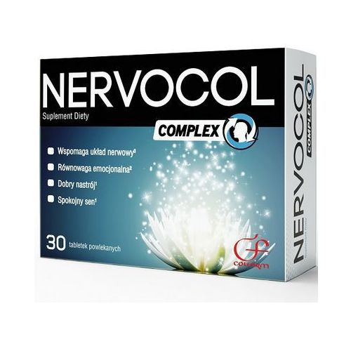 Tabletki Nervocol Complex 30 tabl.. Najniższe ceny, najlepsze promocje w sklepach, opinie.