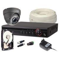 Zestaw monitoringu z946 1x kamera 720p rejestrator hdd 1tb marki Easycam