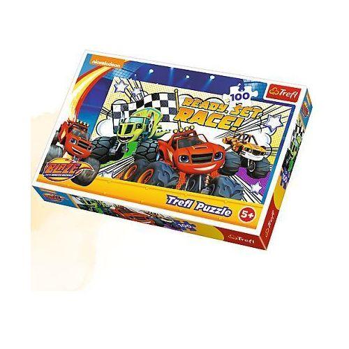 Puzzle 100 elementów - gotowi na wyścig 16301 - marki Trefl