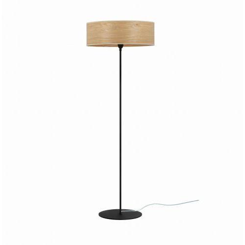 Sotto luce Tsuri xl 1_f podłogowa dąb (drewno naturalne) czarny czarny (5902429655210)
