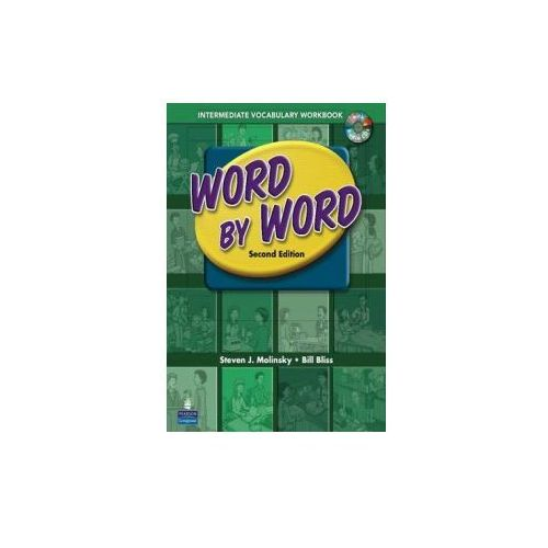 Word by Word Picture Dictionary with WordSongs Music CD Intermediate Vocabulary Workbook