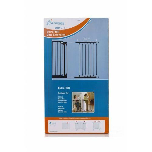 Dreambaby Rozszerzenie bramki zabezpieczającej pcr843b 54/100 cm czarny + darmowy transport! (9312742384319)