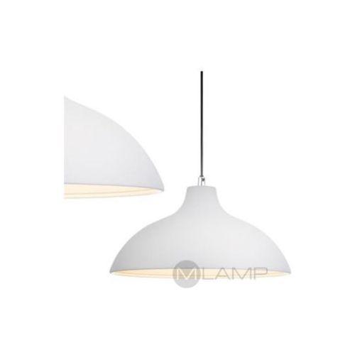 Markslojd Lampa wisząca chandler 106204 metalowa oprawa klasyczna kopuła zwis biały