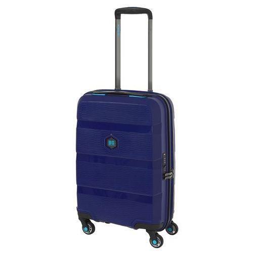 Bg berlin zip2 walizka mała kabinowa antywłamaniowa 20/55 cm / jazz blue - jazz blue