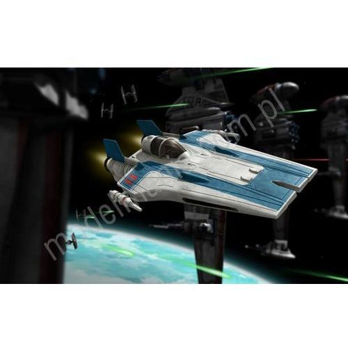 Revell Star wars - resistance a-wing fighter, niebieski (build & play) 06762