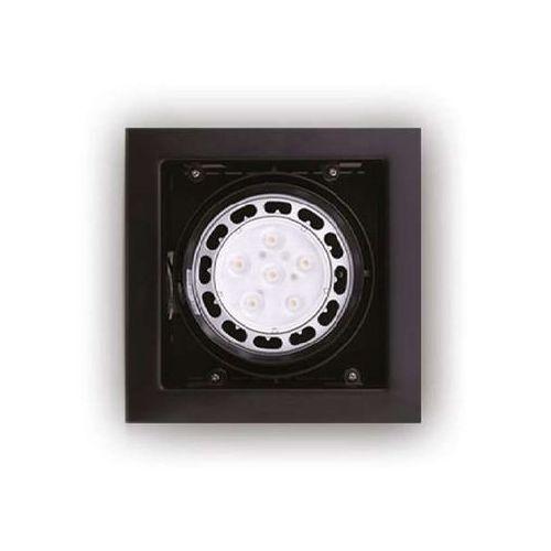 Maxlight Metalowa lampa wpust matrix i h0048 podtynkowa oprawa sufitowa oczko regulowane czarne (1000000108507)
