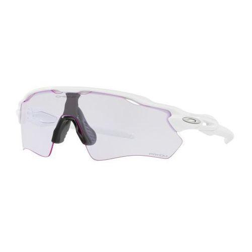 Okulary radar ev path polished white prizm low light oo9208-6538 marki Oakley