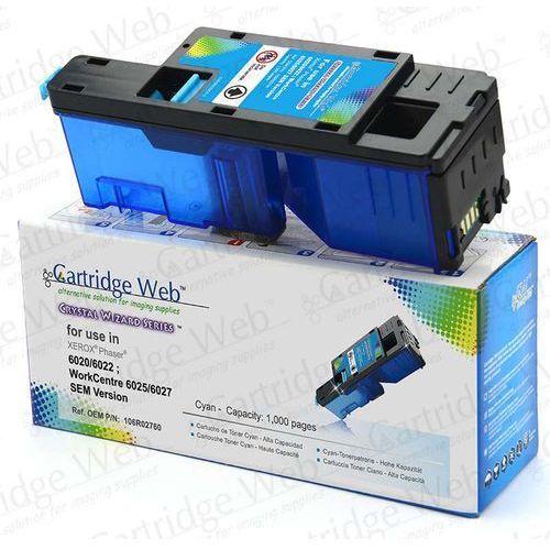 Toner CW-X6020CN Cyan do drukarek Xerox (Zamiennik Xerox 106R02760) [1k]