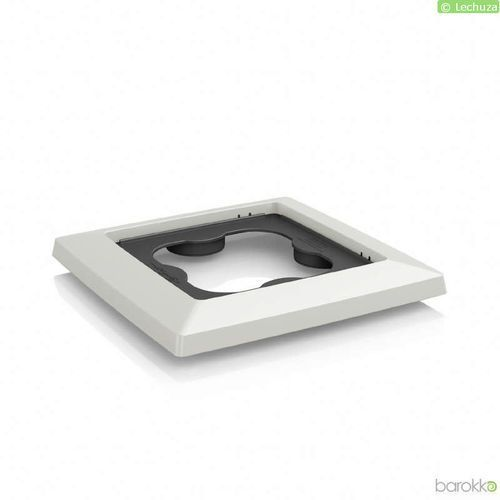 Lechuza - podstawka na rolkach do donic cubico 30, biała - biały (4008789134257)